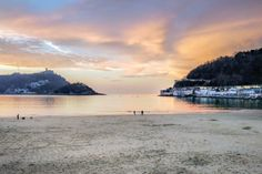Basque Country, Sunsets, Travelling, River, City, Beach, Outdoor, Beautiful, Saints