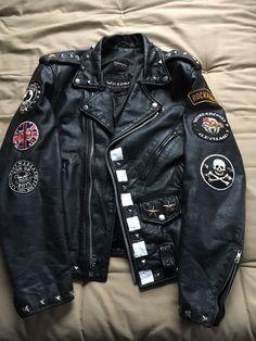 Gilet en cuir de vachette complet pour homme chapeau gilet de motard gilet club XL gilet de rocker