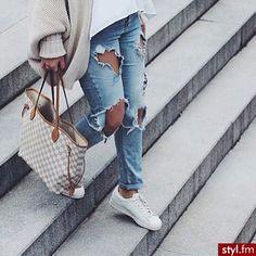 Spodnie z dziurami - 15 modnych fasonów - Strona 2