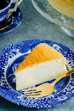Japanese Cheesecake (スフレチーズケーキ) | Easy Japanese Recipes at JustOneCookbook.com