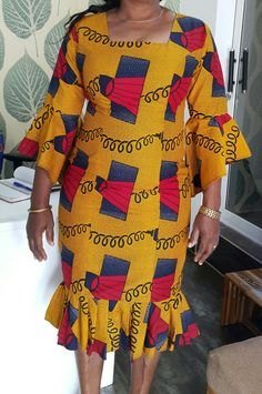 Latest African Fashion Dresses, African Dresses For Women, African Attire, African Women, African Print Dress Designs, African Print Dresses, African Blouses, Shweshwe Dresses, Africa Dress