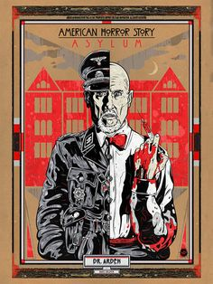 "- Inspired by American Horror Story: Freak Show - Fine Art Giclee Print - Limited Edition of 100 - Approximately 12"" x 36"""