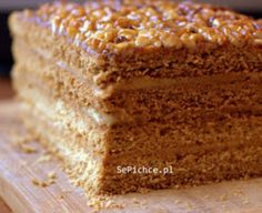 Ciasto snikers lub miodownik