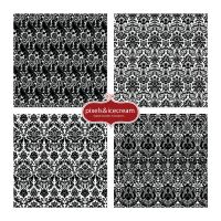 Damask Photoshop Patterns (free sample)