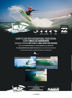 Website Development and Graphical Designs - Page 2 of 10 - This is the portfolio of Dean Wronowski - Bude Website Designer, Graphic Designer and Software Developer in Bude, Cornwall Professional Surfers, Bude, Software Development, Small Groups, Cornwall, Surfing, Website Designs, Alaia, Graphic Design