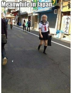 Meanwhile in Japan meme lol humor funny pictures funny photos funny