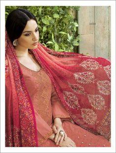 Awesome Pink Lawn Cotton Salwar Kameez1476