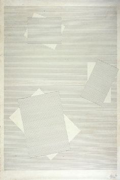 rerylikes:    Lygia Pape. Draws, 1957. Nanquim on japanese paper, 89x65 cm