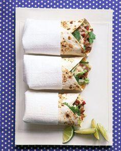 Beef-and-Potato Burritos Recipe
