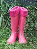 Ribbed Boot Sock, Liner, and Cuff Knitting Pattern Download