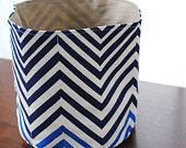 Fabric bucket- good for storage & organization