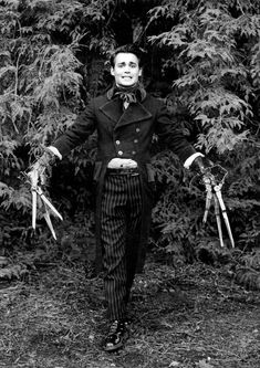 Johnny Depp ~ Edward Scissorhands meets Sweeney Todd