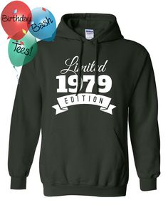 1979 Birthday Hoodie 37 Limited Edition by BirthdayBashTees