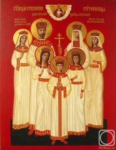 the royal martyrs, by Beysheev Kemel, c2011.
