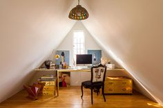 Phone A Friend - How To Create Personal Space When Quarantined With Roommates - Lonny Rotterdam, Personal Space, Hello Gorgeous, Dream Decor, Home Office, Corner Desk, Small Spaces, This Is Us, Yurts