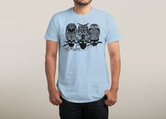 """Owls of the Nile"" by ThirstyFly on mens t-shirts 