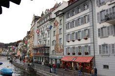at Christmas Lucerne Switzerland, Street View, Christmas, Beauty, Xmas, Navidad, Noel, Beauty Illustration, Natal