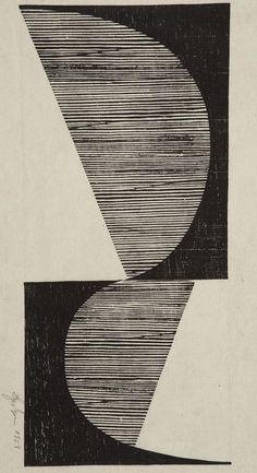 "Lygia Pape ""Untitled"", 1958. #stripes #striped #lines #lined"