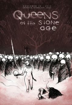 QUEENS OF THE STONE AGE | poster Amsterdam November 26 2013