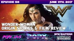 The Amazon invades POPX, as we dive into all things Princess Diana of Themyscira. We offer some insightful details about Wonder Woman's origin story, and how it relates to her first feature length cinematic debut hitting theaters June 2nd. Could this be the film to jump start the DC cinematic universe? We'll see! Geek Culture, Pop Culture, Film Review, Princess Diana, Science Fiction, Universe, June, Wonder Woman, The Originals