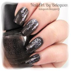 Nail Art by Belegwen: Yhdet juhlakynnet