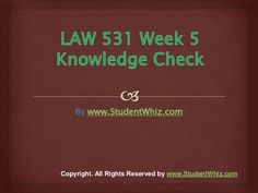 Week 5, Phoenix, Law, Students, Knowledge, University, How To Get, Check, Consciousness