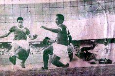 Gol de Liminha no Maracanã, na final do Mundial de 1951 contra a Juventus-ITA