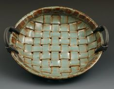 Coyote Desert Sage -- basket weave pottery