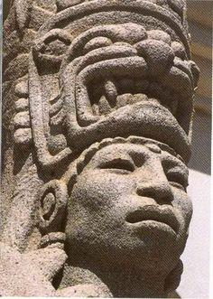 GUERRERO AZTECA (MEXICA) DE BARRO