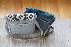 Campfire Messenger Bag Pattern by Anna Graham, Noodlehead