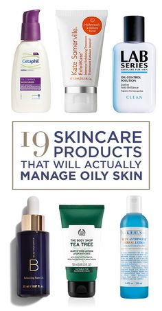 19 Skincare Products For People With Oily Skin