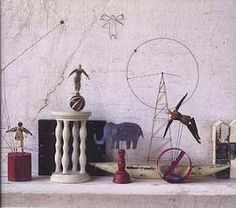 Masayoshi Maeda automata remind me of Calder 's circus