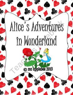 Alices Adventures in Wonderland Unit from mz applebee on TeachersNotebook.com (71 pages)  - Fall down the rabbit hole with this comprehensive unit inspired by Lewis Carrolls classic novel, Alices Adventures in Wonderland.  This package includes the following literacy and math activities:   - Alices Dividing Syllable