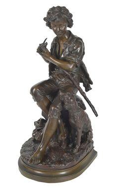 "EUGENE ANTOINE AIZELIN (França 1821 - 1902). ""Pican.."