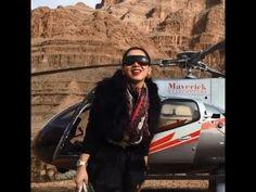 JATUH CANTIK Dari Helikopter Syahrini Bikin Heboh