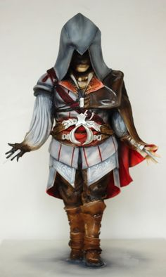 Creed 3d sculpted cake
