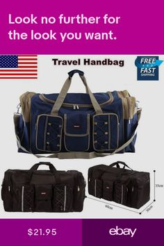 451 Best Duffle Bags images in 2019  974aeb0d94697