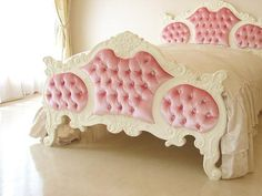 Look at this! A little girls dream bed!