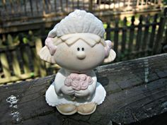 Bumpkin Blushing Bride, By Fabrizio, 1996 Cast Art Inc., Made In The Phillipines by junkblossoms2 on Etsy