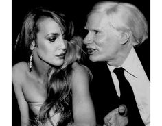 Jerry-Hall-&-Andy-Warhol, Rose Hartman, Incomparable woman of styles http://www.vogue.fr/photo/le-portfolio-de/diaporama/le-portfolio-de-rose-hartman/10535/image/643874#jerry-hall-amp-andy-warhol-rose-hartman-incomparable-woman-of-styles