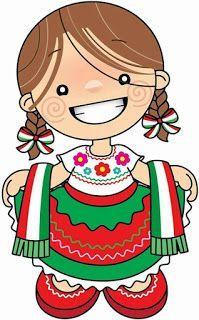 EDUCACIÓN PREESCOLAR: IMÁGENES PARA CONMEMORAR LAS FIESTAS PATRIAS DE MEXICO Mini Yo, Cartoon Clip, Mexican Party, Fiesta Party, Child Doll, Little People, Anime Art, Creations, Clip Art