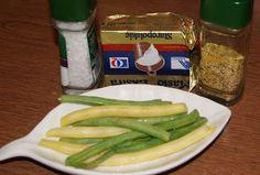 Buniabaje w kuchni: Fasolka szparagowa na parze