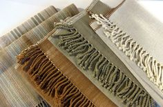 Organic Cotton Natural Color Table Runners