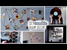 DIY Tumblr Inspired Room Decor!! Cute & Cheap! Make your room look tumblr!♡ - YouTube