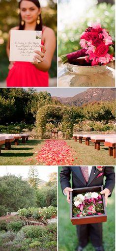 beautiful ranch wedding