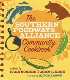 The Southern Foodways Alliance Community Cookbook by Sara Roahen and John T. Edge  These recipe collections reflect, with unimpeachable authenticity, the dishes that define communities: chicken and dumplings, macaroni and cheese, chess pie. When the Southern Foodways Alliance began curating a cookbook, it was to these spiral-bound, sauce-splattered pages that they turned for their model.