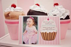 cupcake themed 1st birthday ideas | cupcake theme 1st birthday - lots of good ideas | For our sweet Lexi
