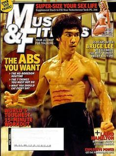 Rock Body Muscle Building Fitness Motivation : Bruce Lee The Dragon