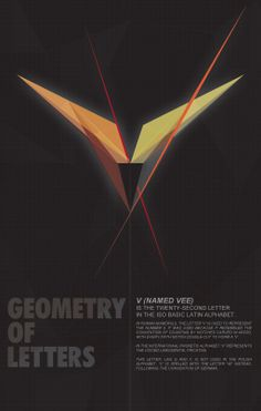 Vee- letter, from Geometry of letters