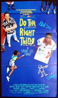 DO THE RIGHT THING Movie Poster (1989)